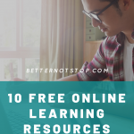 10 Free online learning resources, 10 Free online learning resources