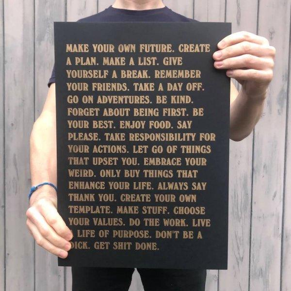 betternotstop manifesto black print