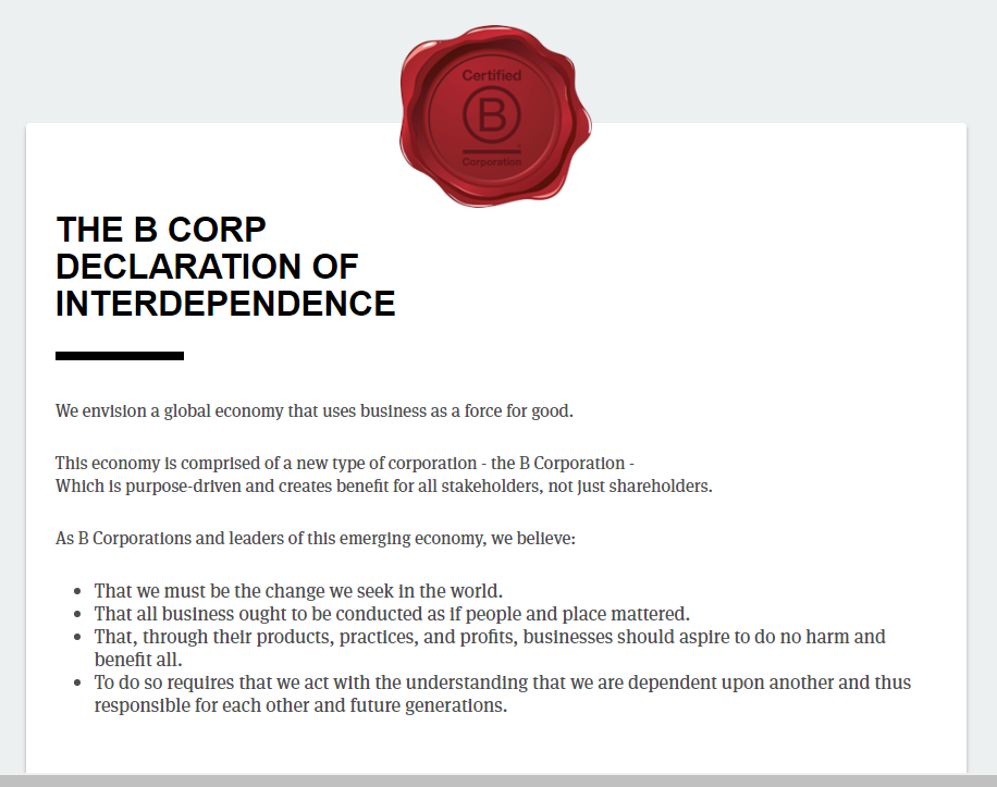 , What Is A B Corp?