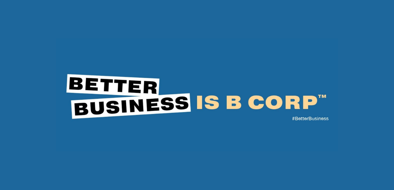 Design reading Better Business is B Corp